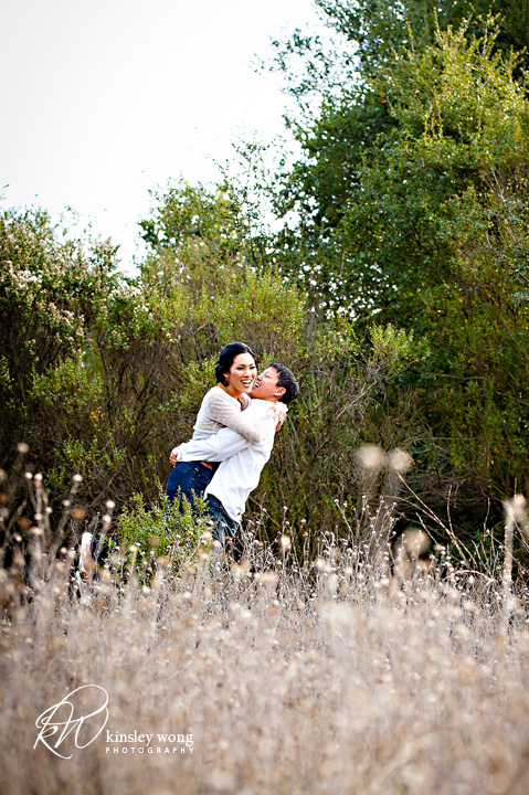 Picchetti winery engagement session