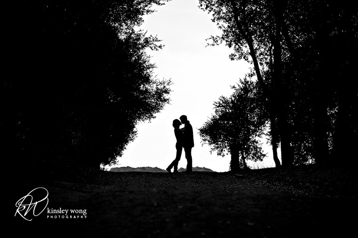Cupertino engagement session with High School sweethearts