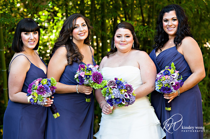 dunsmuir house bride and bridesmaid