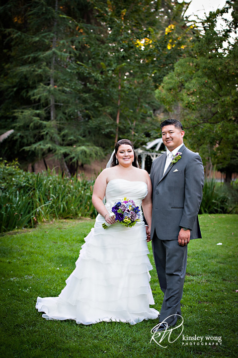 dunsmuir house bride and groom formal picture