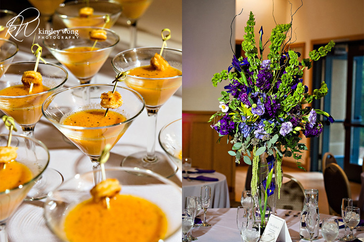 dunsmuir house reception center pieces