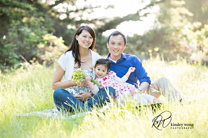 maternity session family photos