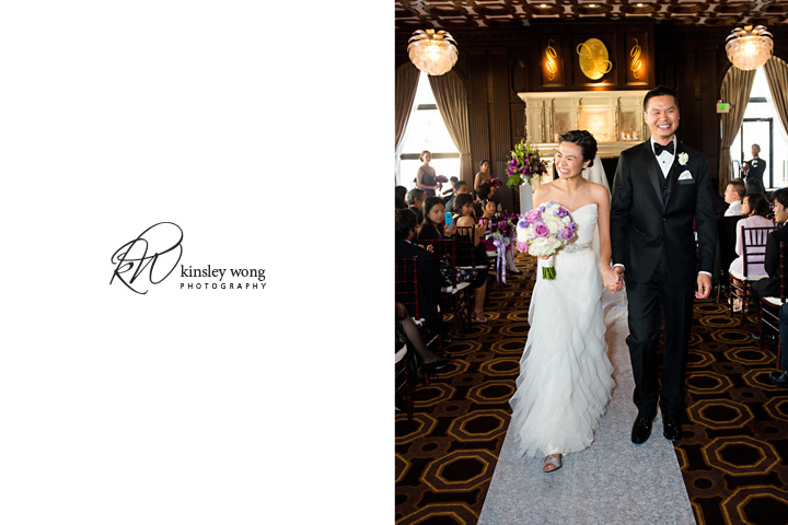 bride and groom married at JMB