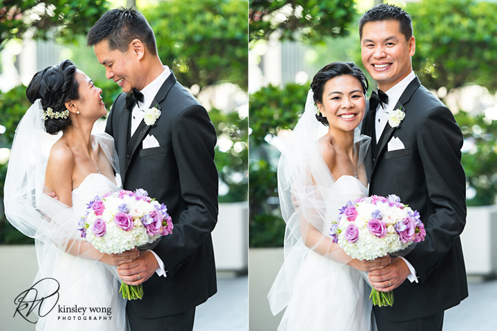 bride and groom wedding portraits in San Francisco