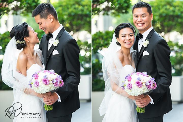 bride and groom wedding portraits in San Francisco