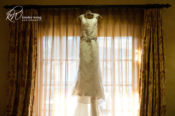 wedding dress at meritage