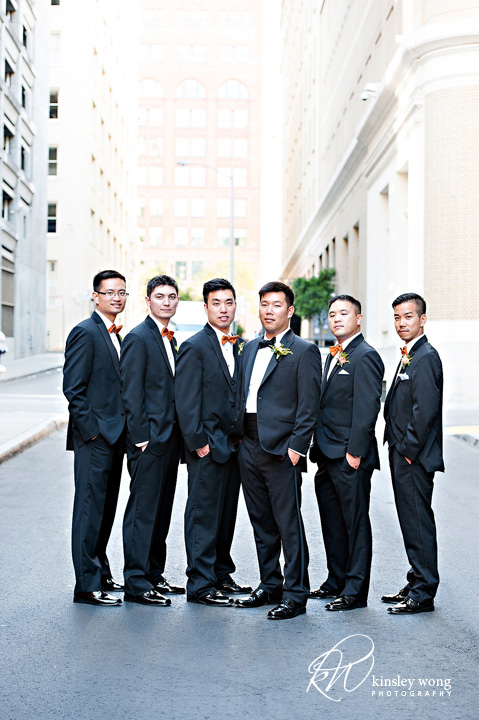 groomsmen photo at the palace hotel