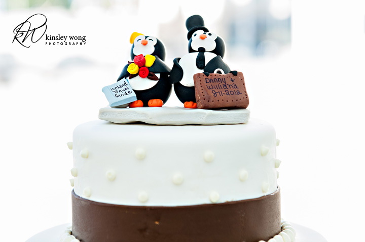 traveling wedding cake