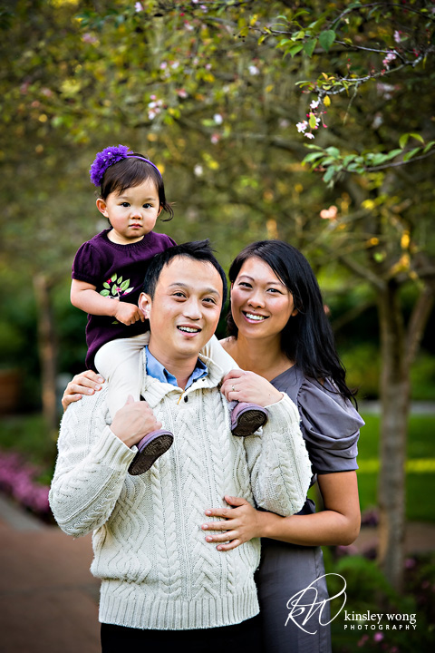 relaxed family photos at golden gate park