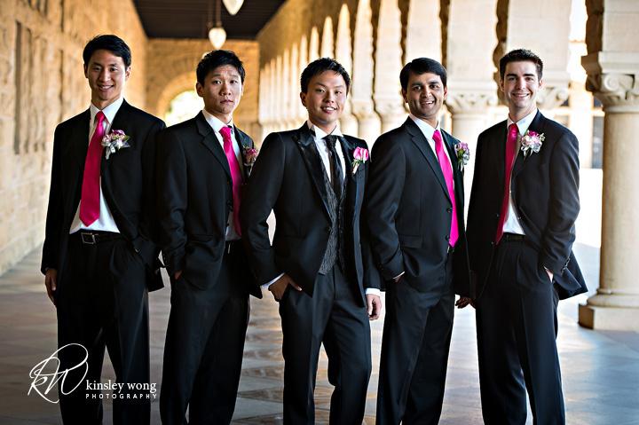 stanford memorial church groomsmen